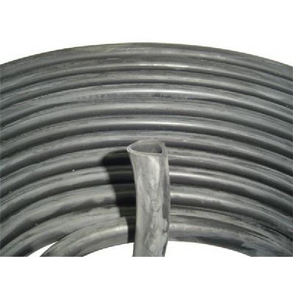 Шланг поливочный 18x3мм 20м резиновый черный.